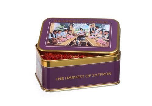Yaya Imports AZ023--Yaya Imports, Gift Tin Spanish Safron Exclusive