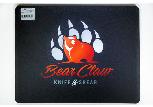 Microstore BCKPAD--Microstore, Custom Bear Claw Logo Mousepad