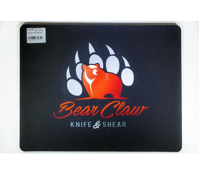 BCKPAD--Microstore, Custom Bear Claw Logo Mousepad