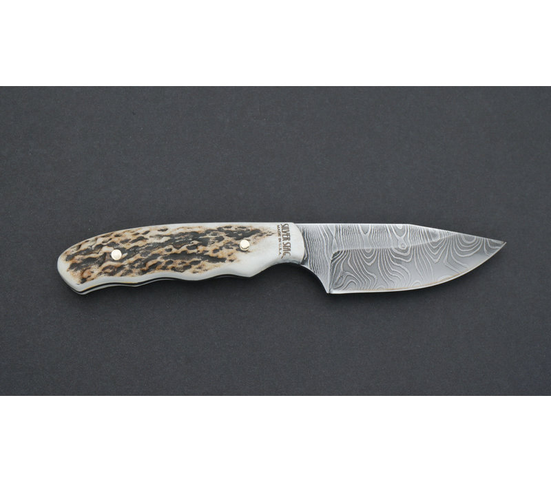 DTG2.5--SilverStag, The Guide - Damascus Series - 1095 Carbon