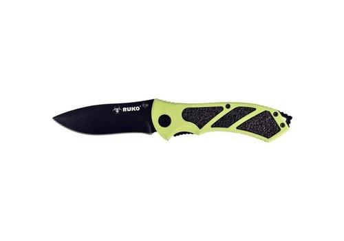 Ruko A012--RUKO, RUK0061HG Folding Knife, Neon Alum. Handle