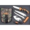Ruko A135--RUKO, Ruk0133CA Fixed Blade Knife Set Nylon/Rub Handle