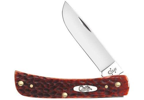 """Case & Sons Cutlery Co. CA07014--Case, Chestnut Bone Sodbuster Jr. 3 5/8"""" w/ CV Blade"""