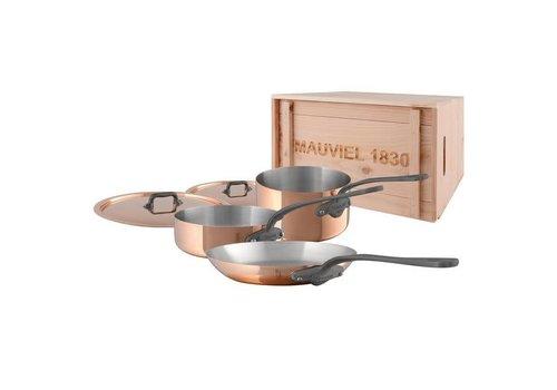 Mauviel 6450.01WC--Mauviel, M'150c 5pc Set w/ Crate