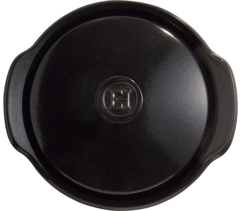 "795575--Emile Henry, Charcoal 9"" 2.1qt. One Pot"