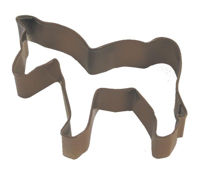 "1224/Z--Horse brown CC 4"" (Single)"