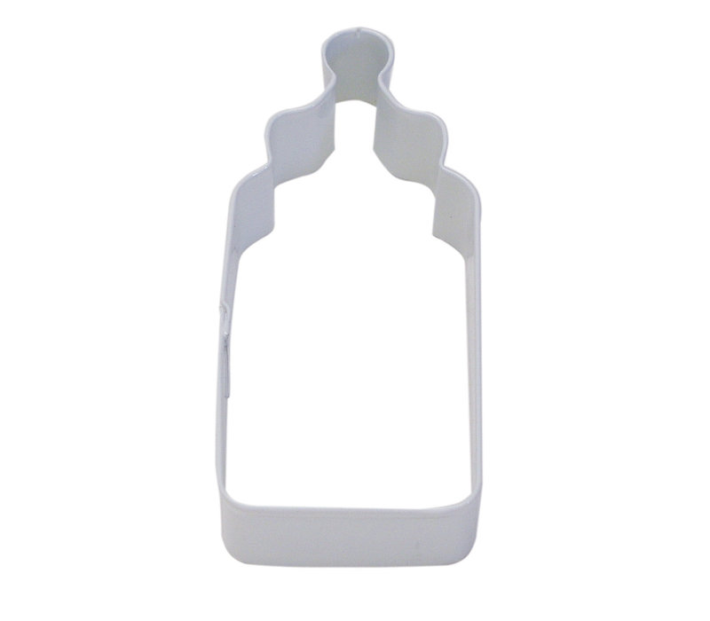 "0989/WS--R&M, 4"" White Baby Bottle CC 4"" (Single)"
