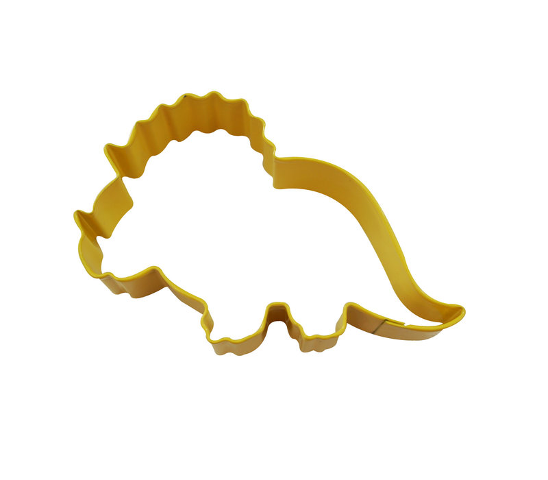"0810/YS--R&M, Baby Triceratops yellow 4.25"" (Single)"