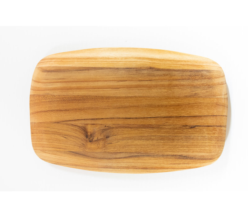 201--TeakHaus, Elegant Collection - Gently Rounded Edge - 10x6.5x0.55