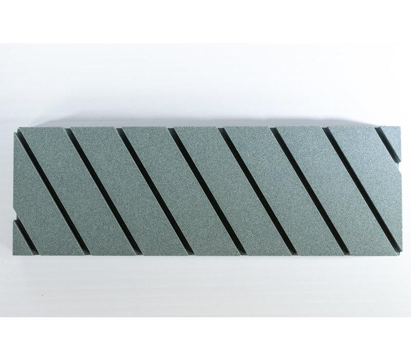 "FS120--Pride Abrasives, Flattening Stone 120 grit 9""x3""x3/4"""