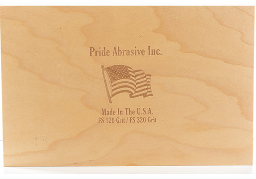 "Pride Abrasives LFSCS--Pride Abrasives, Flattening Combo Stone 120/320 Grit, 10""x6""x1"""