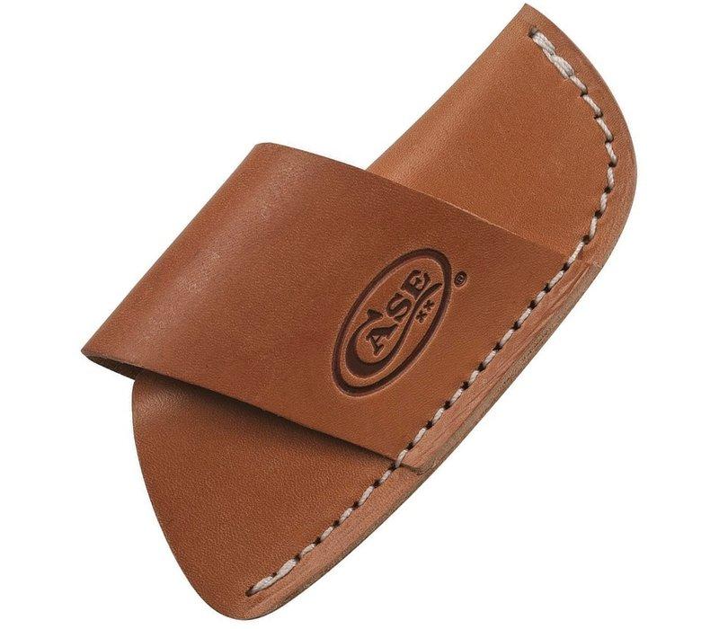 CA50232--Case, Side Draw Belt Sheath, Brown Leather