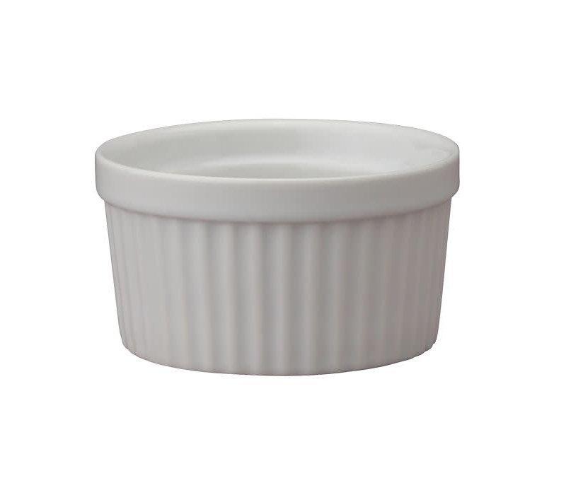 """98004--HIC, Souffle, Porcelain 3"""" 4 oz."""
