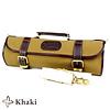 Boldric CKR113--Boldric, 9-Slot Roll Knife Bag - Khaki