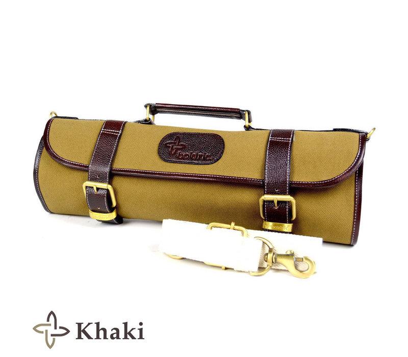 CKR113--Boldric, 9-Slot Roll Knife Bag - Khaki