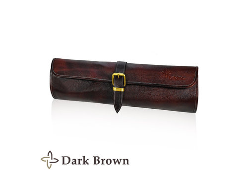 Boldric LB122--Boldric, Leather One Buckle Dark Brown