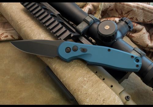 Spartan Blades SF9BKBL--SpartanBlades, Zelos, Blue, Automatic