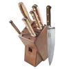 Lamson 39726--Lamson, Rosewood Forged 6pc Block Set w/ Walnut Block