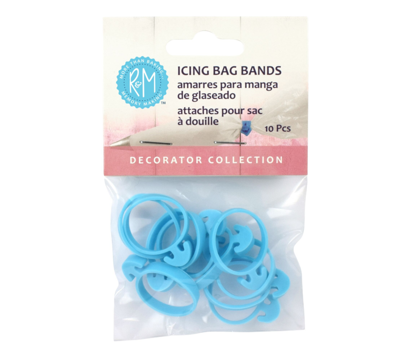 2796--R&M, Icing Bag Bands (Set of 10)