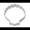 "R & M International Corp 1307/WS--R&M Sea Shell CC 3"" White (Single)"