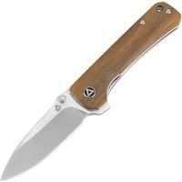 QS131D--QSP, Knife, Hawk, S35VN  Satin finish Steel blade