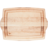 "JK. Adams FARM-2014-HDL--JKAdams, Farmhouse Carver w/ Handles 20""x14""3/4"""