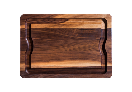 "JK. Adams BBQ-2014-WAL--JK. Adams, Walnut BBQ Board w/ Mineral Oil Finish, 20""x14""x1"""
