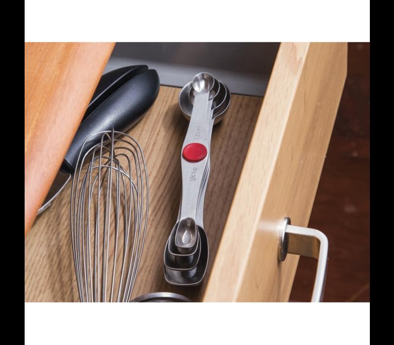 PL8-5100--Progressive, Stainless Steel Measuring Spoons