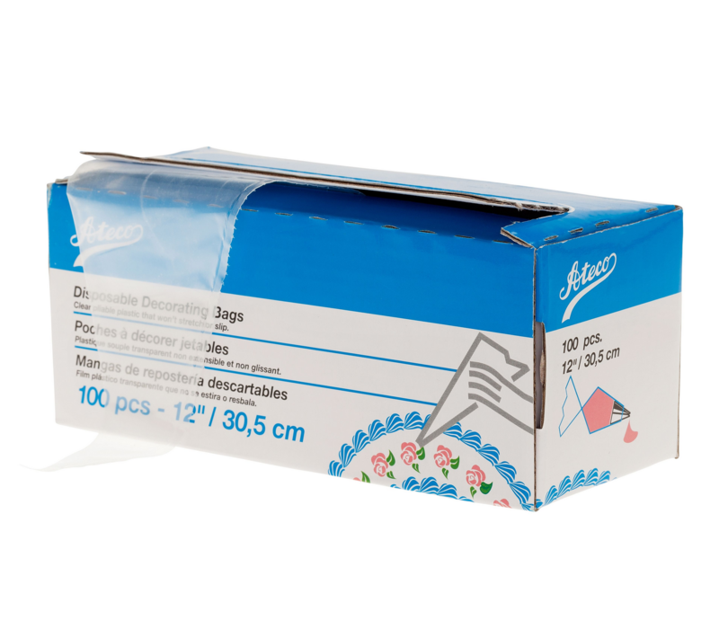 47712-- HIC, Disposable Pastry Bags (Box of 100)