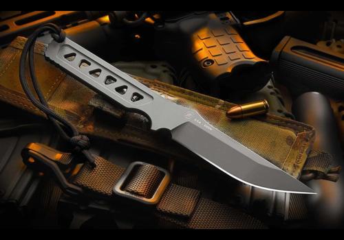 Spartan Blades SB39BKKYBK--Spartan Blades, Formido, Black CPMS35VN steel W/Kydex Sheath