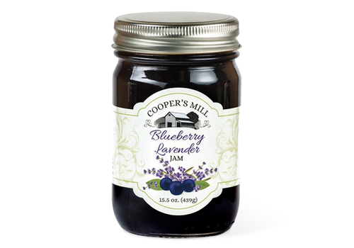 Crossroads JJ37OR--Crossroads, Blueberry Lavender Jam (Orchard Reserve)
