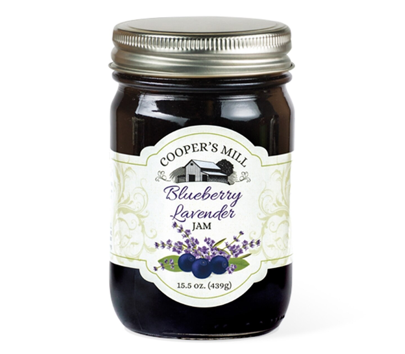 JJ37OR--Crossroads, Blueberry Lavender Jam (Orchard Reserve)