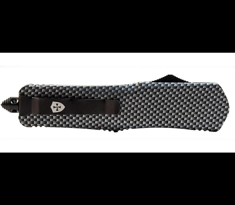 S-CF-13-1--Templar, Small Carbon Fiber Dip Dagger Black