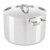 Clipper Corp/Viking 40011-0432--Viking, 3-Ply 12 Qt. Stock Pot w/ Metal, Stainless Steel Mirror