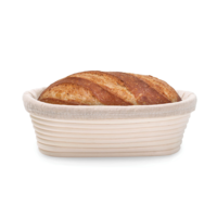 22064--HIC, Oval Bread Proofing Basket
