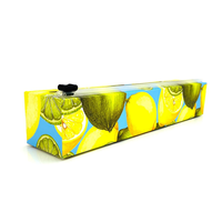 """4011-Allen Reed, Dispenser Lemon Plastic Wrap 12"""" x 250'"""