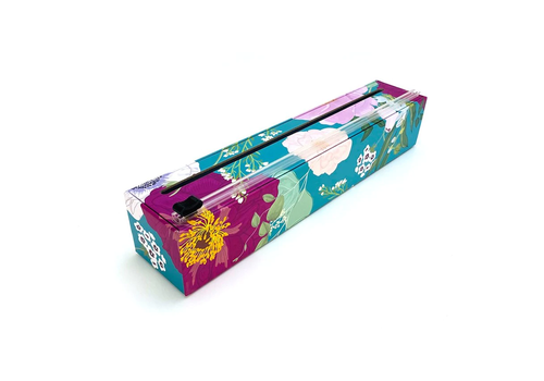 "Allen Reed Co. Inc. 4012--Allen Reed, Dispenser Spring Flowers Plastic Wrap 12"" x 250'"