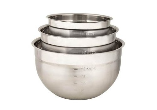 Cuisipro 747390--Browne, Cuisipro, Mixing Bowl Set, 3pc