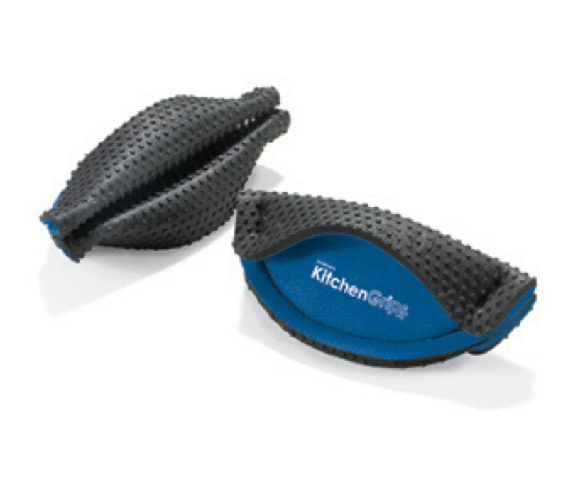 110501-20--Browne, Kitchen Grips Handle Holder Blue/Black  2pc.