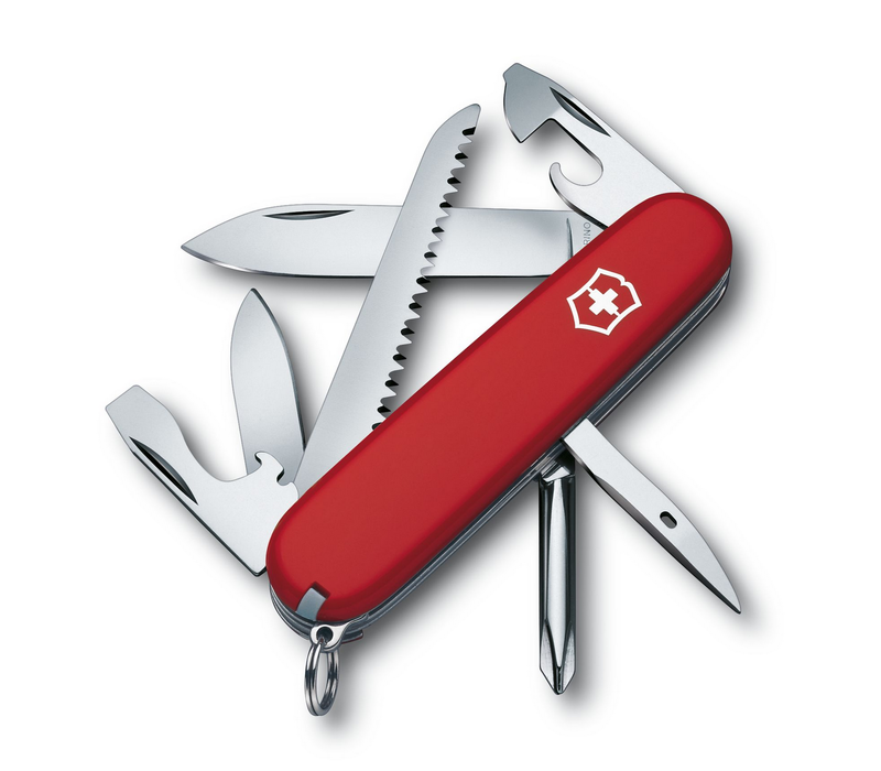 1.4613-033-X1--Victorinox, Hiker, Red Handle