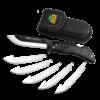 Outdoor Edge RL-10C--Outdoor Edge, RAZOR-LITE, Black, 6-Blades) - Clam