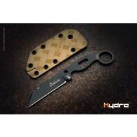 HK-01-Black-SBR--Hydra, Buzzard Black Hawk, Brown Sheath