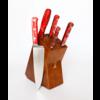 Lamson 59901--Lamson, Fire Series 6pc Block Set w/ Walnut Block #306