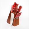 Lamson 59903--Lamson, FIRE Series Forged 16pc Block Set w/ Walnut Block #323