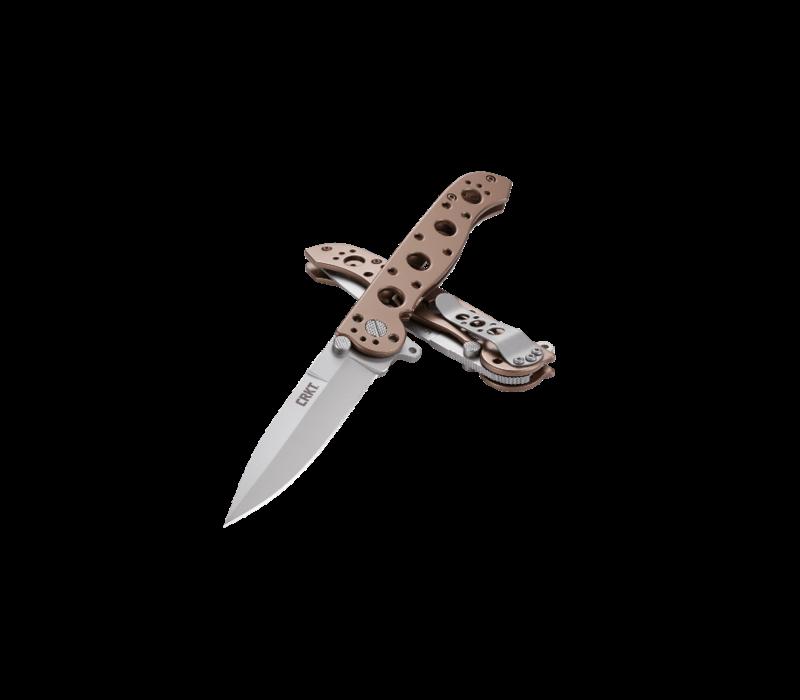 M16-03BS--CRKT, M16, Bronze, Silver Blade