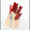 Lamson 59972--Lamson, FIRE, Forged 16-Piece Block Set (Maple) #320