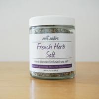 192-CP12--SaltSisters, French Herb Infused Sea Salt 2.8oz single