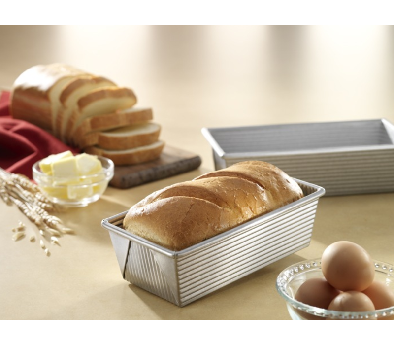 1140LF--USAPan, USA Small Loaf Pan 1# Vol. - 8.5x4.5x2.75