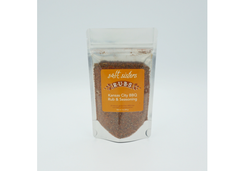Salt Sisters 520-CP4--SaltSisters, Kansas City BBQ Rub 3 oz. single