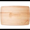 "JK. Adams PSB-2416--JK Adams, Pour Spout Board with Bird/Roast Cradle 24""x16""x1"""